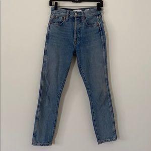 Re/Done Originals Straight Leg Jeans